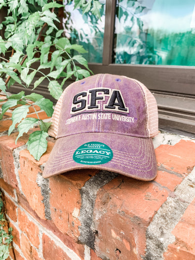 Split Line SFA Trucker Hat- Purple