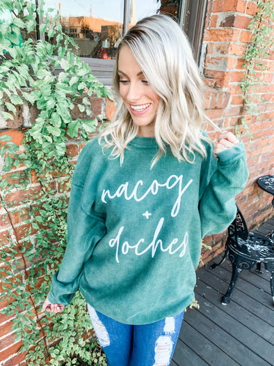 Nacog + Doches Corded Sweatshirt