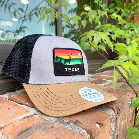 Texas Horizon Hat- Grey/Caramel/Black