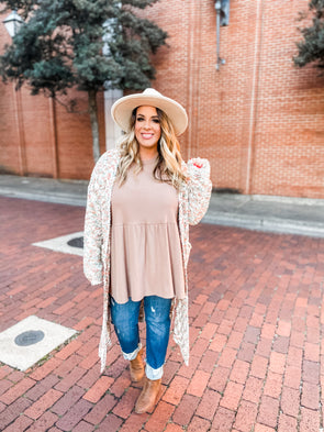 Camryn Popcorn Knit Sweater