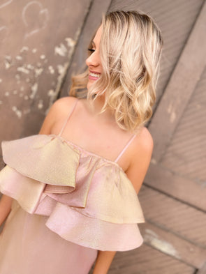 Kelsey Dress- Rose - Texas Bling