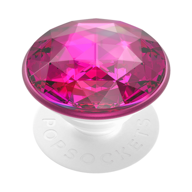 Disco Crystal Plum Berry Popsocket
