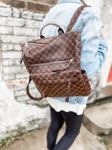 New Lacey Backpack- Brown