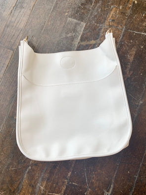 Interchangeable Strap Bag- White