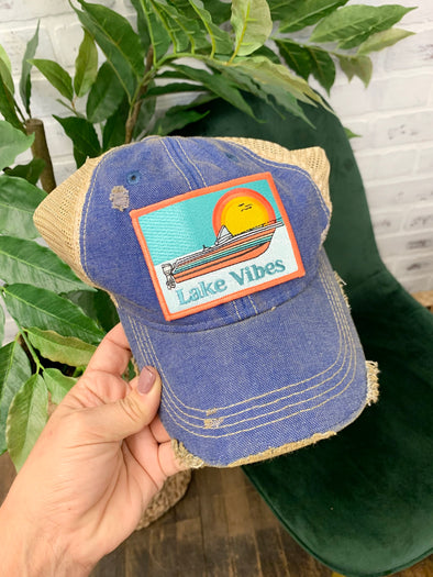 Lake Vibes Patch Hat