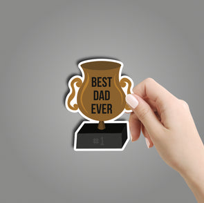 Best Dad Ever Sticker