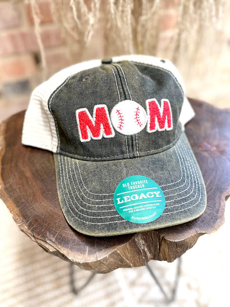 Boy Mom Patch Hat