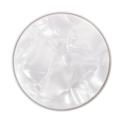 Acetate Pearl White Phone Popsocket