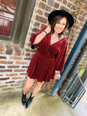 Whitney Dress- Vamp - Texas Bling