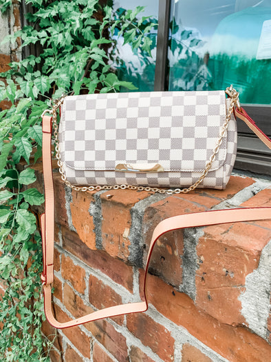 The Lacey Crossbody- Cream