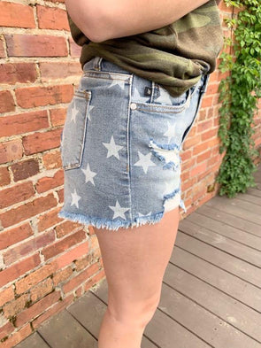 Cora Shorts - Texas Bling