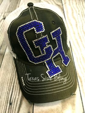Central Heights Bling Hat - Texas Bling