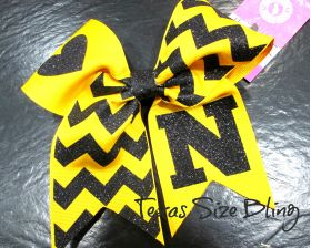 Nacogdoches Hair Bow - Texas Bling