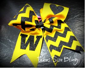Woden Hair Bow - Texas Bling