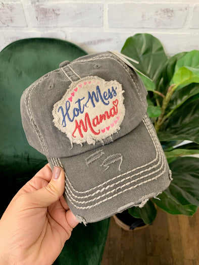 Hot Mess Mama Hat