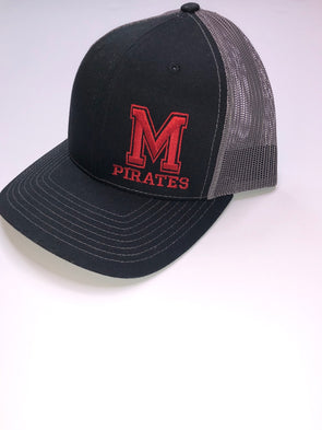 Trucker Mascot Hat-Pirates - Texas Bling