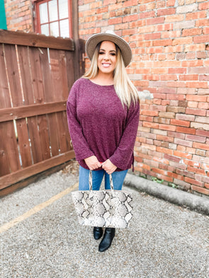Cassidy Bell Sleeve Knit Top