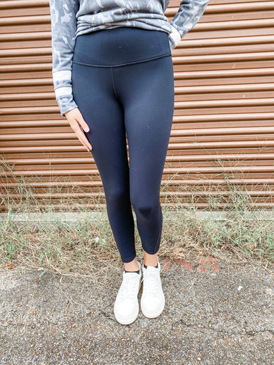 Cammy Perforated Panel High Waist Leggings