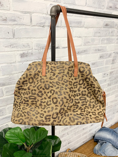 Lennox Tote Leopard