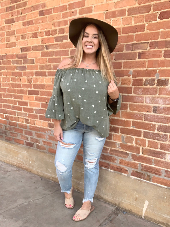 Michelle Off Shoulder Top