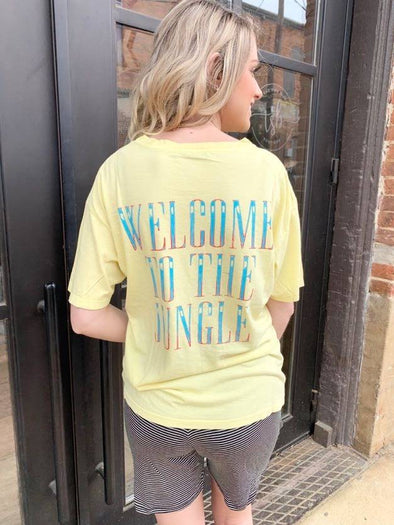 GNR Welcome to the Jungle Boyfriend Tee