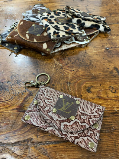 Coleen Coin Purse/Keychain- Snake