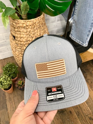US Flag Patch Hat