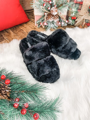 Corset Slippers - Black