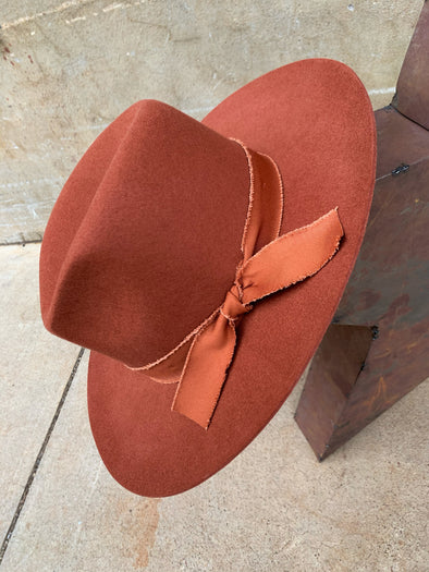 Lesly Hat- Rust