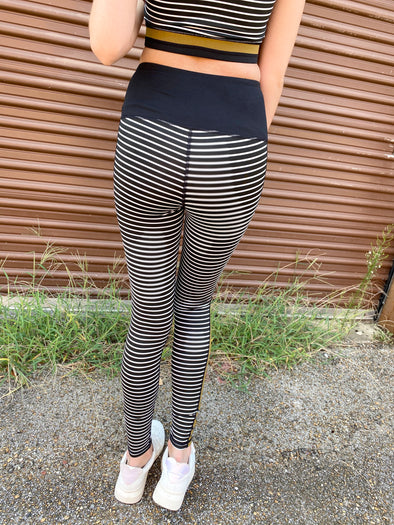 Hattie Striped Leggings