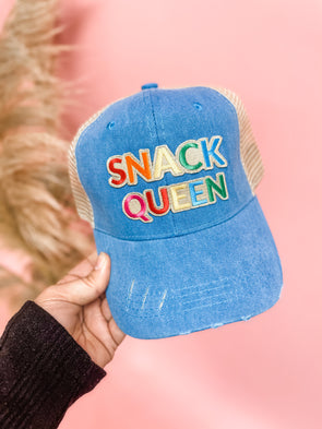 Snack Queen Patch Hat