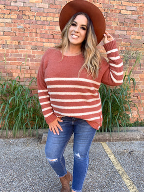 Catalina Striped Sweater