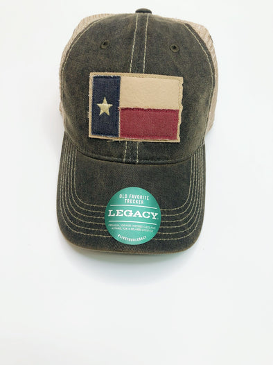 TX Flag Cap- Black
