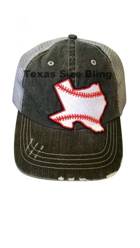 Baseball Texas Hat - Texas Bling