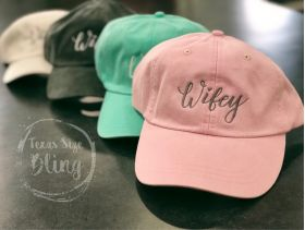Wifey Hat - Texas Bling