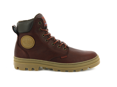 05938-225-M | PALLABOSSE SPORT CUFF WATERPROOF | BURNT OCHRE/CHOCOLATE BROWN/LIGHT GUM