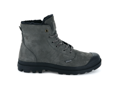 05981-064-M | PALLABROUSSE LEATHER S | DK GULL GRAY/ANTHRACITE