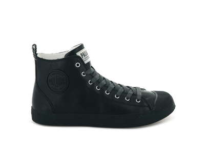 75955-010-M | PALLAPHOENIX MID LEATHER | BLACK/BLACK
