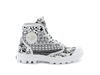 95752-916-M | PAMPA HI PRINT | ETHNIC BLACK/STAR WHITE