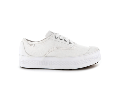 95768-101-M | WOMENS S_U_B LOW CANVAS | WHITE/WHITE