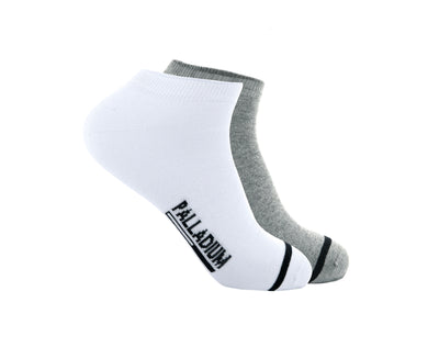 SX0108-995 | MEN'S BASIC ANKLE | WHITE/GREY