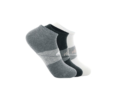 SX9118-993 | WOMEN'S SPORT INVISIBLE | WHITE/LT GREY/GREY