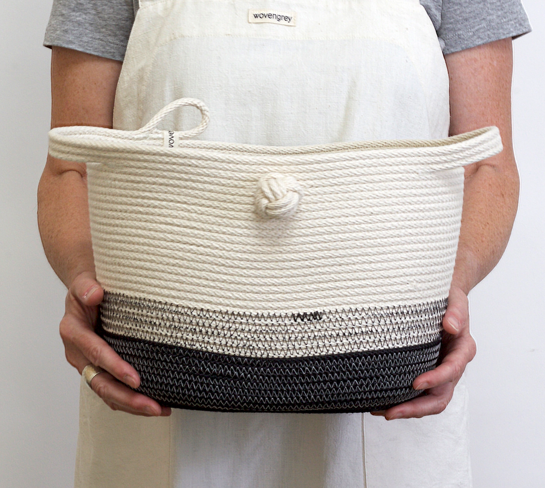 Magazine Bucket with Knot - The Give Store