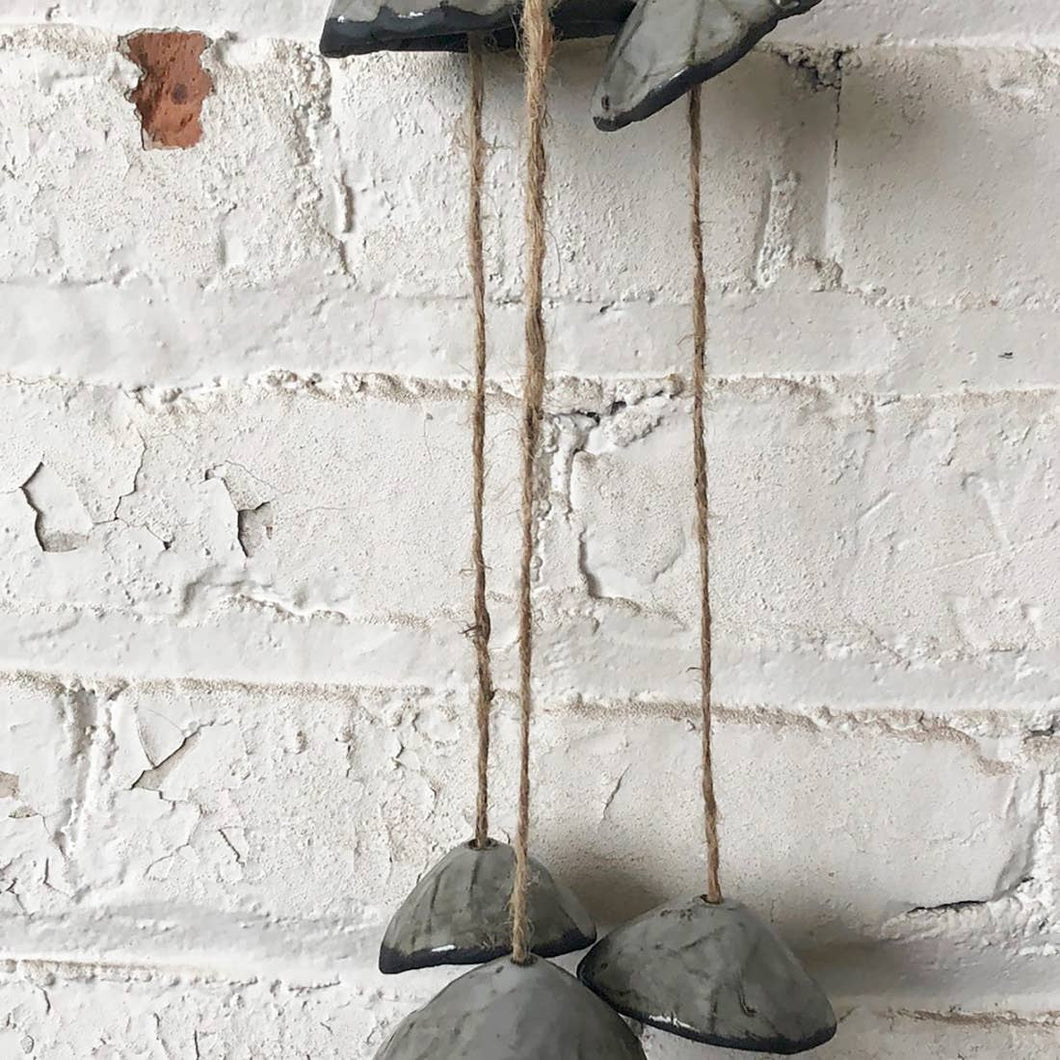 Black and Gray Windchimes - The Give Store