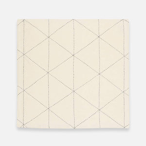 Napkin Set of 2 (Bone/Graph) - The Give Store