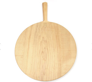 Edgewood Made Round Wood Cutting Board With Handle - The Give Store