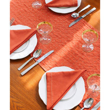 Napkin Set of 2 (Rust/Navy) - The Give Store