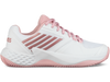 96135-136-M | WOMENS AERO COURT HB | WHITE/CORAL BLUSH/METALLIC ROSE