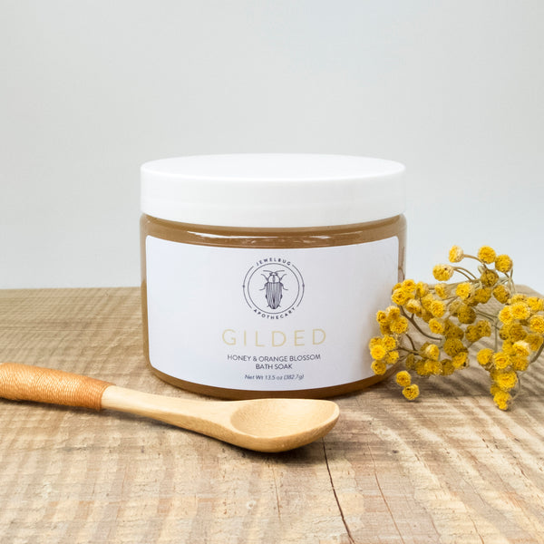 Gilded Honey & Orange Blossom Bath Soak