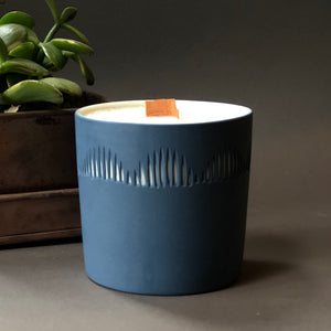 Jewelbug + Forest Ceramic Co. Soy Candle - Cedarwood & Cypress #1